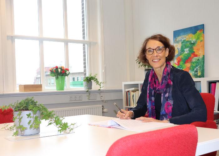 Mediator Lucienne Willems in Den Haag